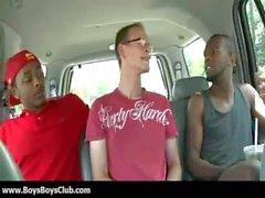 Grosse muskulöse schwarzen Homosexuell Jungen zu demütigen weiß twinks hardcore 29