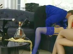 Manila May&Brigitta Nelson - 3some anal with gloves