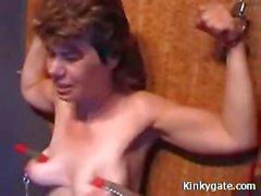 Extreme painful Punishment Mature Slave Nina