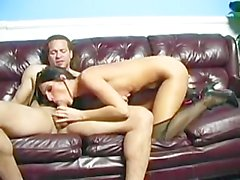 Slutty Jennifer Dark Swallows Down A Serving Of Cum