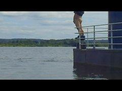 bloot op de boot