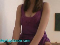 19 yo czech brunette lapdances for horny guy