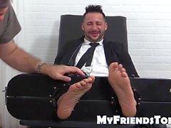 Tonlu Yoel Sabit Ayakları de parmakları da eğlendirdi alır kahkahalar VÜCUTLU