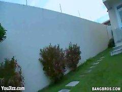 Emilly Sanchez In Busty Brazilian BarBQue - Part 1