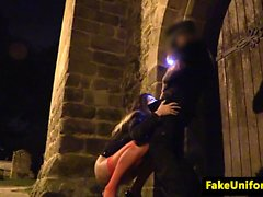 British hooker cocksucking crooked cops cock