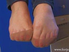 Nylon Feet FJ