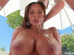 Titty Fuck And Anal For Ava Addams