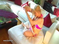 Zlata's Incredible Bikini Contortion