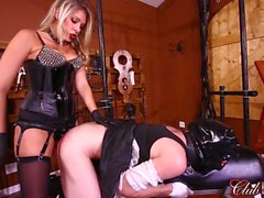 ClubDom Goddess Nikki Brooks Controls Her Sissy Maid