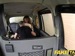 Fake Taxi creampie for rimming tanned babe