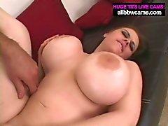 Big Boobs Brunette gets it hard pt 2