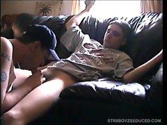 Blowjob Str8 Pojan ja Cory