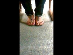 jessica candid feet