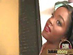 Bukkake ebony babe group fucking 25