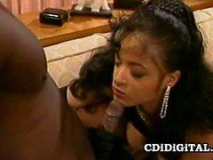 Nina DePonca - Retro Black On Black Sex Play
