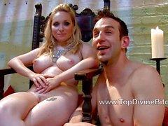 Slave Jason serving Maitresse Madeline