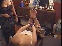Bound Girl Falaka Soles - LoversHeels@Pornhub