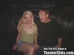 Jasy's Porn Theater Group Sex Creampie