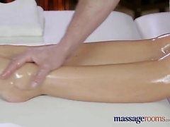 Sex with a School Girl in Massage Room