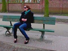 Jeans Wetting In Public