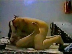 seksi seks yaparken amatör bir Arap Morroccan bir couple