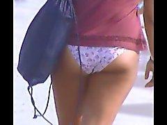 hot sexy teen beach voyeur jiggly ass 5