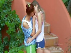 Romantic lesbo adventure from slovakia