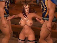 Pornkraft Alliance - Incredible 3D anime xxx world