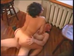 Young Man Fucks Asian Granny