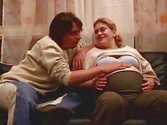 Mamma di gravidanza Cum sui vetri