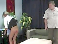 Arse Spanked Redder Than Her Hair