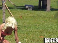 Mofos - Sexy flexible blonde shows off