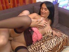 Casting couch big boobed french mom ass pounded and creamed