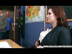Hot opettaja antaa hänen opiskelija naida häntä karkea