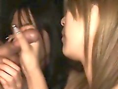 Nasty asian amazes with lusty oral sex and titty fucking