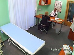 Sales woman banged by doctor in fake hospital