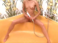Russian babe Natasha in the elegant shower