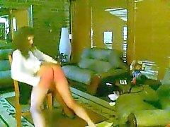 OTK Hand spanking