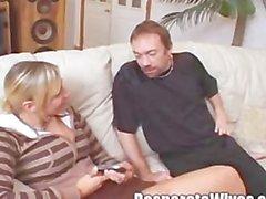 Anastasia's Slut Wife Training Flexbility Testing