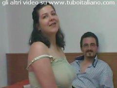 moglie italiana tettona e porca sexy italian bbw wife