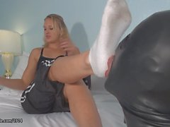 JC Simpson Dominating With Foot fetish