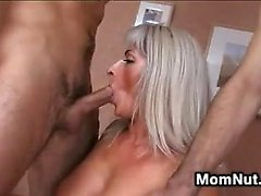 Older Mother In A Fivesome Gangbang
