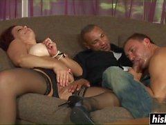Nasty friends enjoy pleasing each other