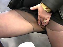 Glam slut obtient wam cum