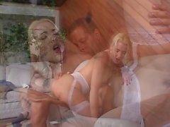 Blond tramp gets good anal fucking
