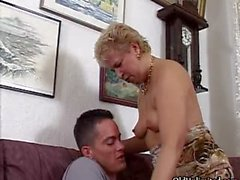 Nasty mature whore sucks on an hard cock part5