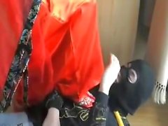 Chinese Mistress trample Slave