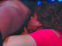 Lesbian ebony sluts having fun in bar