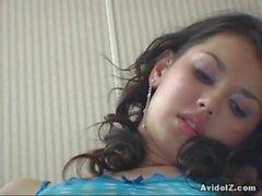 Atractiva de demostración de masturbación femenina aseo María Ozawa ha