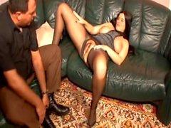 naughty-hotties - German BBW in pantyhose